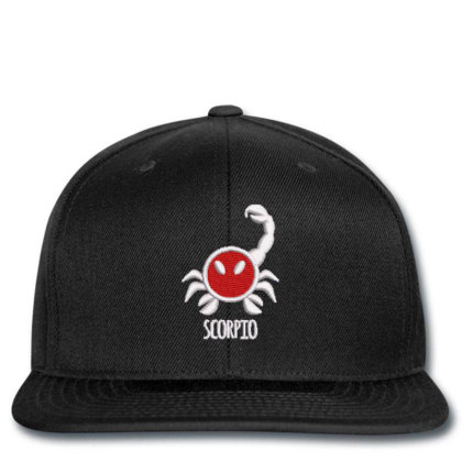 Scorpio Embroidered Hat Snapback Designed By Madhatter