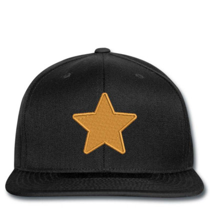 Star Embroidered Hat Snapback Designed By Madhatter