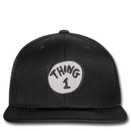 Thing 1 Embroidered Hat Snapback Designed By Madhatter
