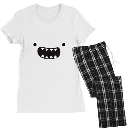 Face Cute Women's Pajamas Set Designed By Moneyfuture17
