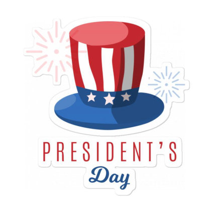 President's Day Sticker Designed By Estore
