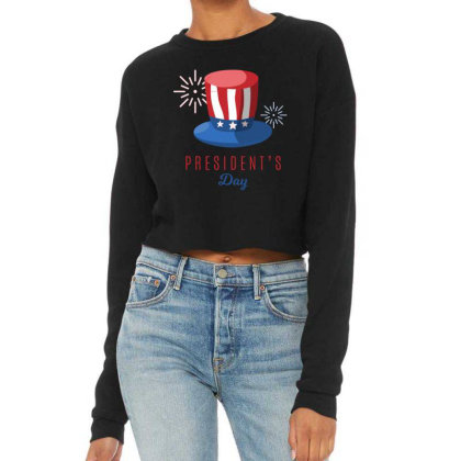 President's Day Cropped Sweater Designed By Estore