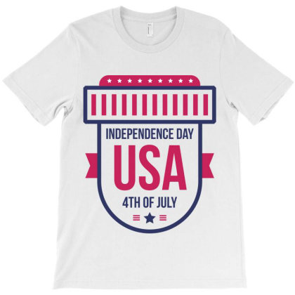 Independence Day Usa T-shirt Designed By Estore