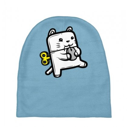 Robo Cat Baby Beanies Designed By Specstore