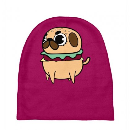 Pug Burger Baby Beanies Designed By Specstore