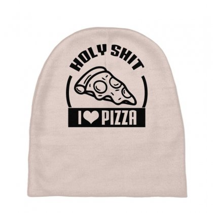 I Love Pizza Tee Baby Beanies Designed By Specstore