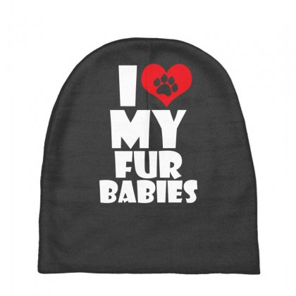 I Love Fur Babies Baby Beanies Designed By Specstore