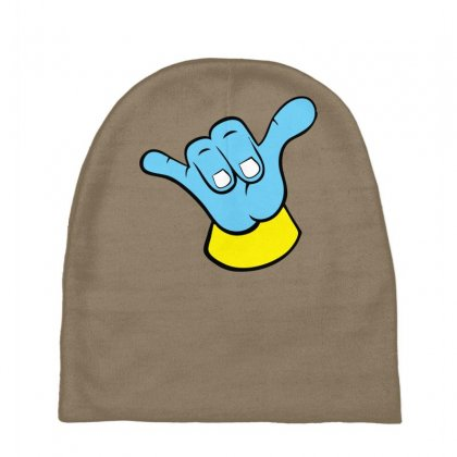 Hang Loose Big Blue Baby Beanies Designed By Specstore