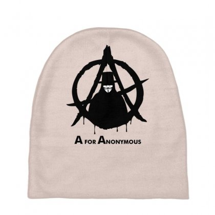 A For Anonymous Baby Beanies Designed By Specstore