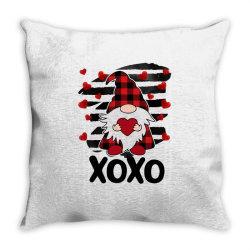 Gnome Heart Xoxo Throw Pillow Designed By Badaudesign