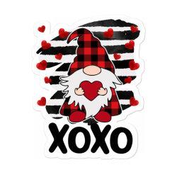 Gnome Heart Xoxo Sticker Designed By Badaudesign