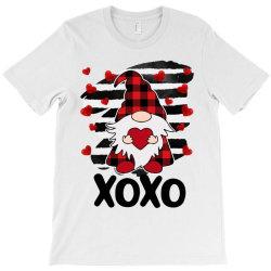 Gnome Heart Xoxo T-shirt Designed By Badaudesign