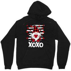 Gnome Heart Xoxo Unisex Hoodie Designed By Badaudesign
