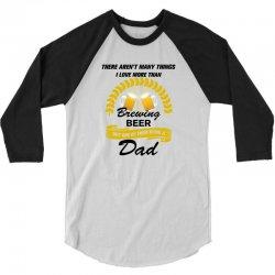 This Dad Loves Brewing Beer 3/4 Sleeve Shirt | Artistshot