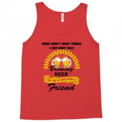 this friend loves brewing beer Tank Top | Artistshot