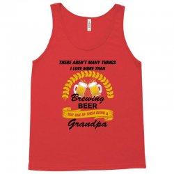 This Grandpa Loves Brewing Beer Tank Top | Artistshot