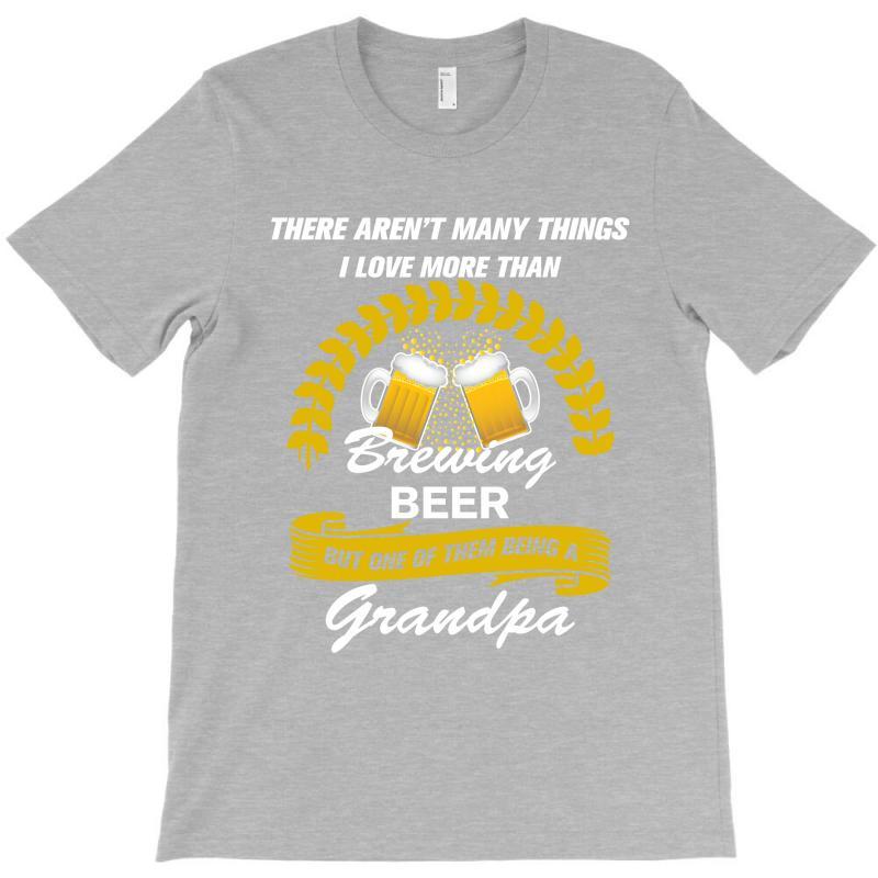 This Grandpa Loves Brewing Beer T-shirt | Artistshot