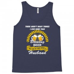 This Husband Loves Brewing Beer Tank Top | Artistshot