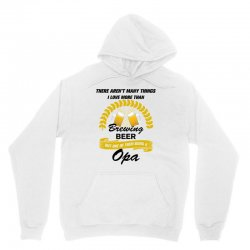 This Opa Loves Brewing Beer Unisex Hoodie | Artistshot