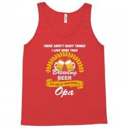 This Opa Loves Brewing Beer Tank Top | Artistshot