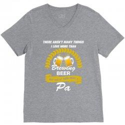 This pa Loves Brewing Beer, V-Neck Tee | Artistshot