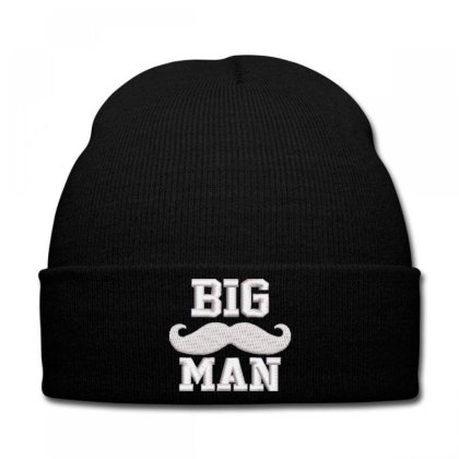 Big Man Embroidered Hat Knit Cap Designed By Madhatter