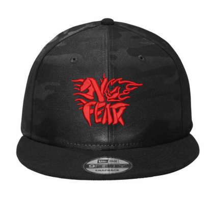 No Fear Embroidered Hat Camo Snapback Designed By Madhatter