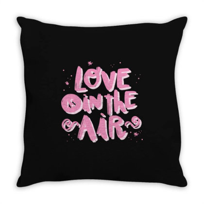 Love Is In The Air Throw Pillow Designed By Estore