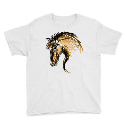 Horse Youth Tee Designed By Estore