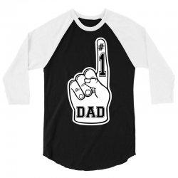 Number One Dad ( #1 Dad ) 3/4 Sleeve Shirt | Artistshot