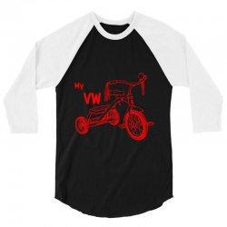 My VW Bike 3/4 Sleeve Shirt | Artistshot