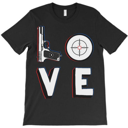 Love T-shirt Designed By Blqs Apparel