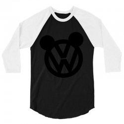 Wolkswagen Hubby 3/4 Sleeve Shirt | Artistshot