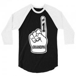 Number One Grandpa ( #1 Grandpa ) 3/4 Sleeve Shirt | Artistshot