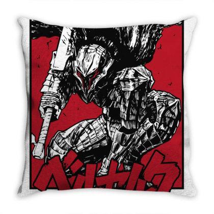 Berserk Throw Pillow Designed By Paísdelasmáquinas