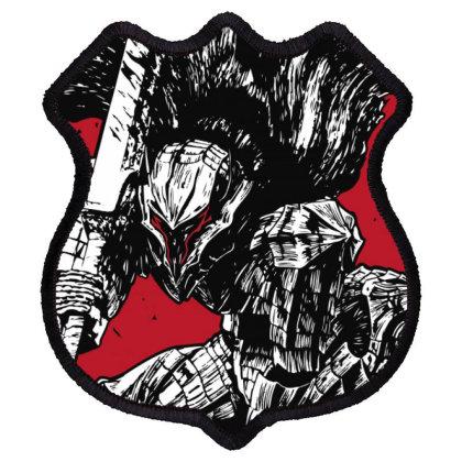 Berserk Shield Patch Designed By Paísdelasmáquinas