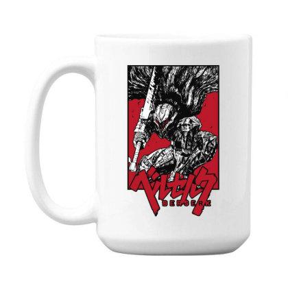 Berserk 15 Oz Coffe Mug Designed By Paísdelasmáquinas