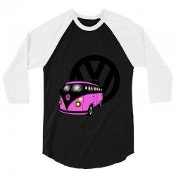 vw combi 3/4 Sleeve Shirt | Artistshot