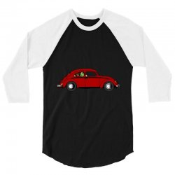 Vw Beetle 3/4 Sleeve Shirt | Artistshot