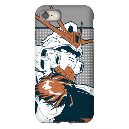 Gundam Wing Iphone 8 Case Designed By Paísdelasmáquinas