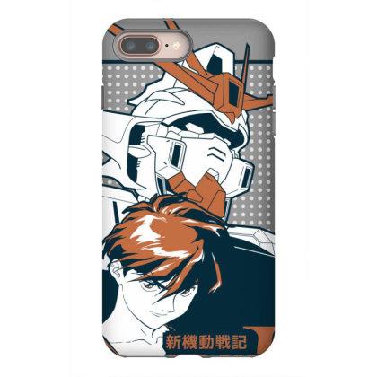 Gundam Wing Iphone 8 Plus Case Designed By Paísdelasmáquinas