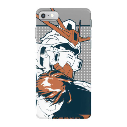 Gundam Wing Iphone 7 Case Designed By Paísdelasmáquinas