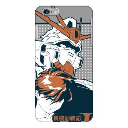 Gundam Wing Iphone 6 Plus/6s Plus Case Designed By Paísdelasmáquinas