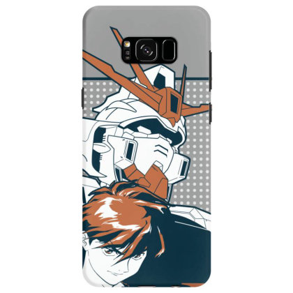 Gundam Wing Samsung Galaxy S8 Case Designed By Paísdelasmáquinas