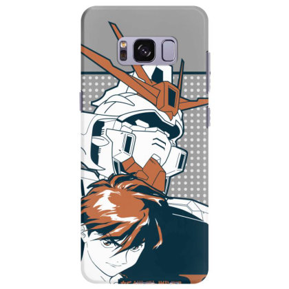 Gundam Wing Samsung Galaxy S8 Plus Case Designed By Paísdelasmáquinas
