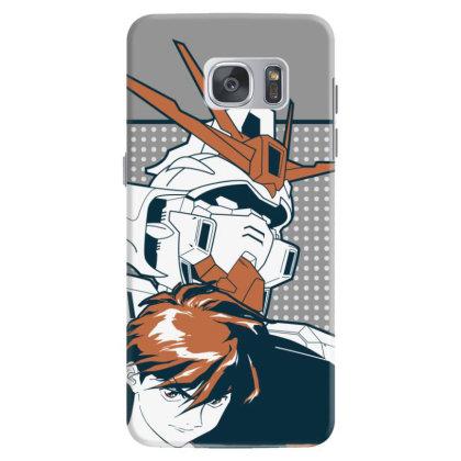 Gundam Wing Samsung Galaxy S7 Case Designed By Paísdelasmáquinas