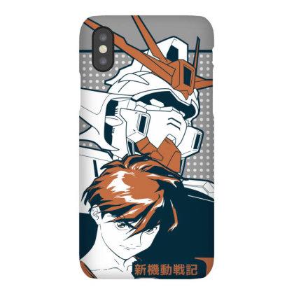 Gundam Wing Iphonex Case Designed By Paísdelasmáquinas