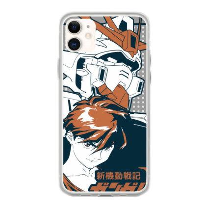 Gundam Wing Iphone 11 Case Designed By Paísdelasmáquinas