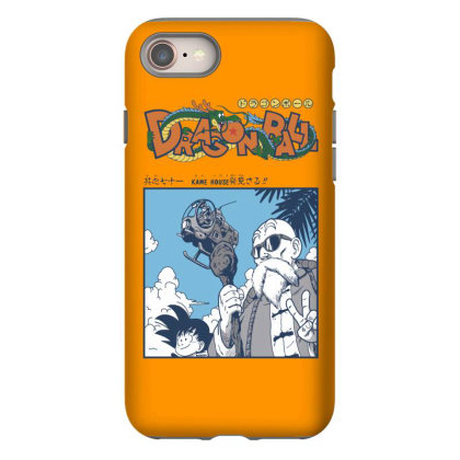 Muten Roshi Iphone 8 Case Designed By Paísdelasmáquinas