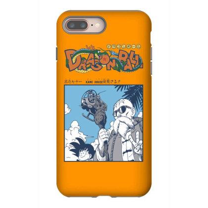 Muten Roshi Iphone 8 Plus Case Designed By Paísdelasmáquinas